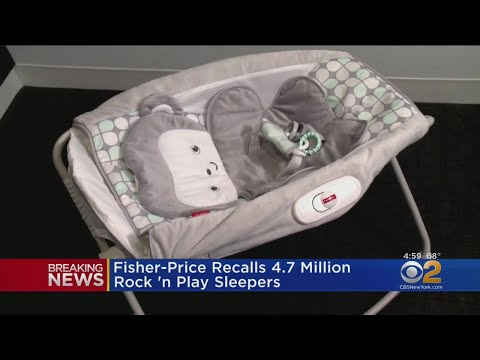Fisher Price Rock 'n Play Recall