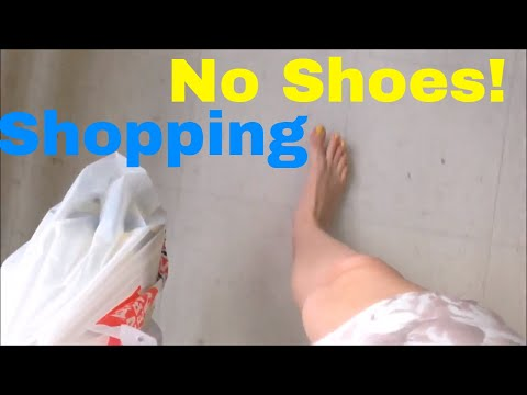 Barefoot Walking In The Supermarket! | New Zealand Life