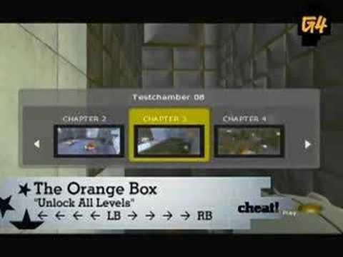 Orange Box: Cheat Codes