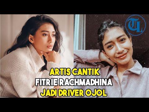 Download Artis Cantik Fitrie Rachmadhina Jadi Driver Ojol
