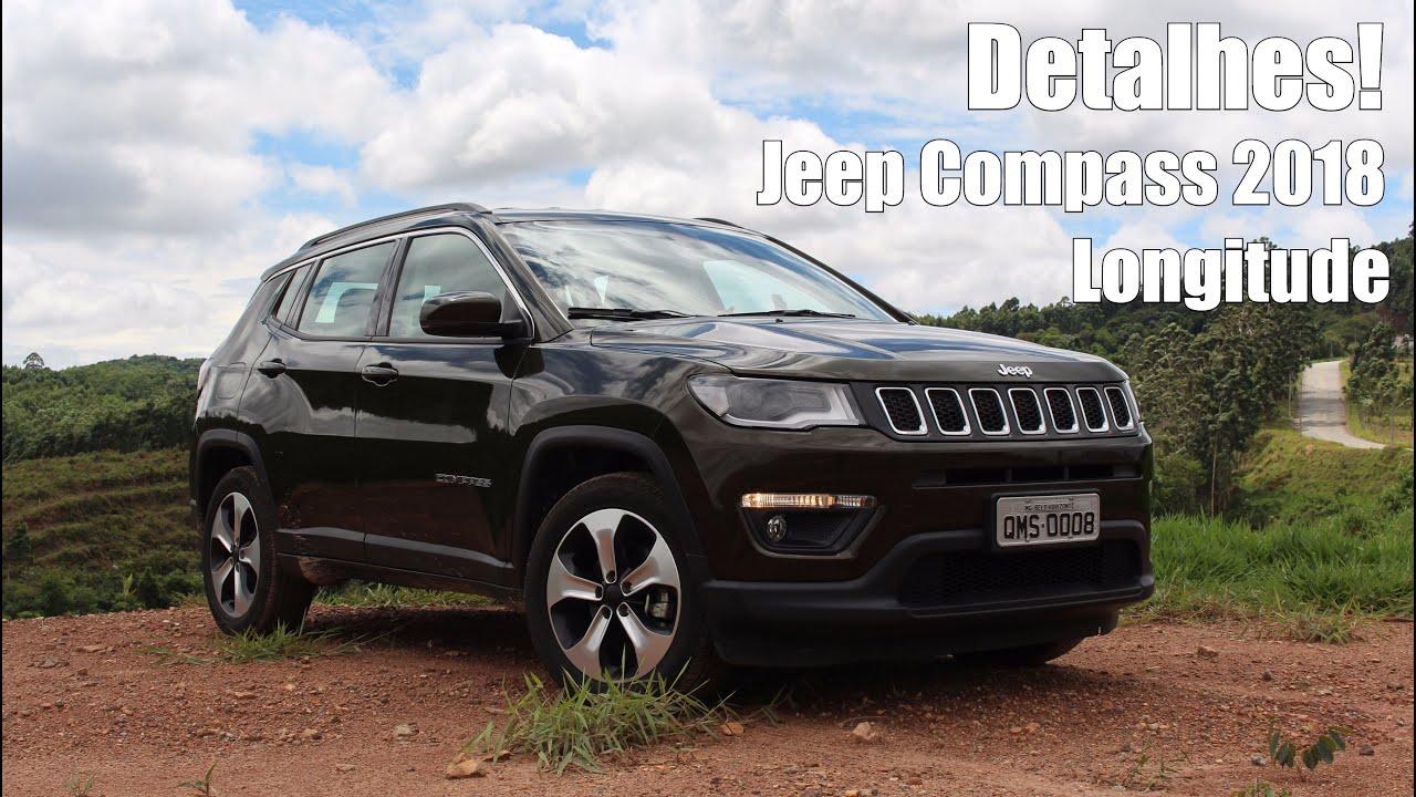 Jeep Compass Longitude 2018 Flex Falando De Carro Youtube