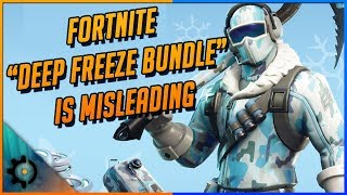"Le Fortnite ""Deep Freeze Bundle"" est extrêmement trompeur"