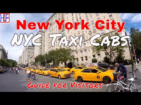 New York City (NYC) | Taxi Cabs Guide - Getting Around | Travel Guide | Episode# 3