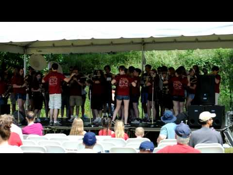 Kingston High School Buccaneers Band - Kingston 4th of July 2011