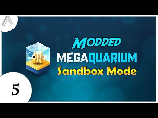 Modded Megaquarium - Sandbox Mode - Episode 5 [Visitor Doors]