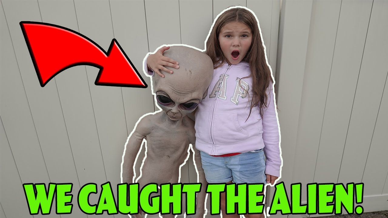 We Caught The Alien In Our Woods! Come Play With Us!