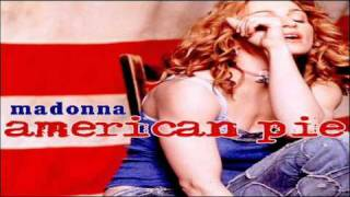 Madonna American Pie (Instrumental Version)