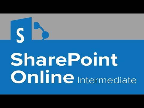 SharePoint Online Intermediate from YouTube · Duration:  1 hour 30 minutes 13 seconds