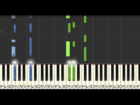 【ゆっくり】HANABI/Mr.Children(ピアノソロ中級)【楽譜あり】Mr.Children - HANABI [PIANO]
