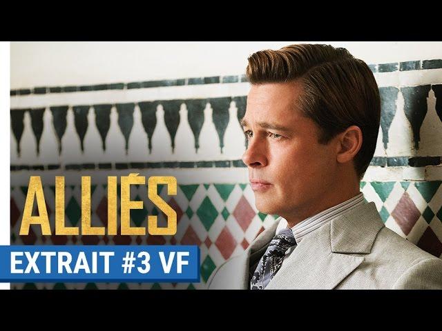 ALLIÉS - Extrait #3 : Max Vatan (Brad Pitt) démasqué (VF)
