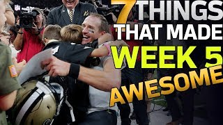 7 Things That Made Week 5 AWESOME! | NFL Highlights