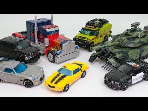 Transformers Movie Optimus rime Bumblebee Jazz Ironhide Ratchet Barricade Brawl Car Robot Toys