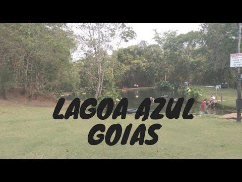 Lagoa Azul / vila propício - Go #viagem