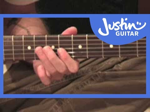 Johnny B Goode - Chuck Berry (Songs Guitar Lesson ST-318) How to play