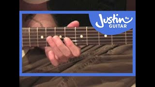 Johnny B Goode - Chuck Berry (Songs Guitar Lesson ST-318) How to play thumbnail