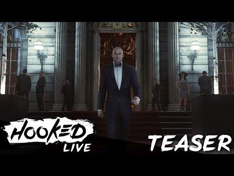 Hitman GOTY-Edition - Heute 18 Uhr LIVE - twitch.tv/hookedlive