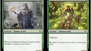 Standard Hierarch Delver MTGO Magic the Gathering Match 3 vs Red Aggro