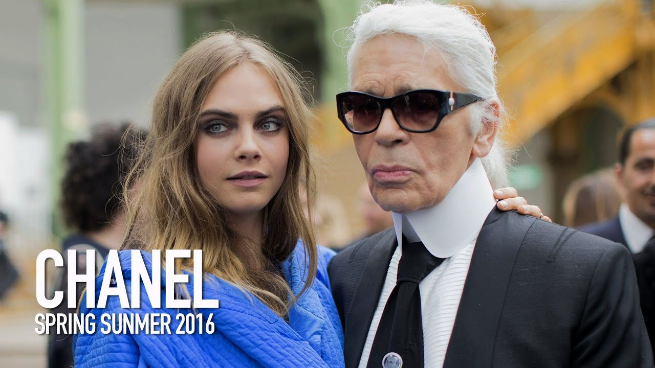 245f0b5a84d CHANEL Spring 2016 Fashion Show Backstage ft Karl Lagerfeld