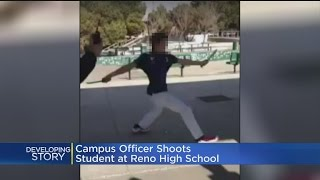 Reno High School Student Shot By Campus Police Officer