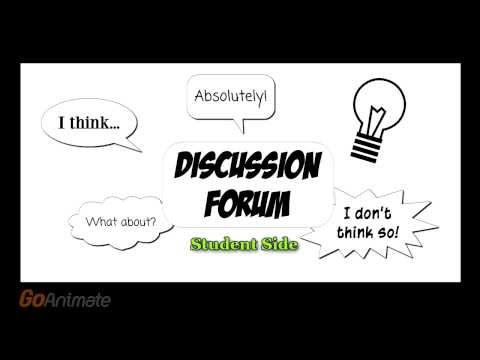 Ulogistics Discussion Forum (Student side) - 2014