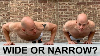 Are Wide or Narrow Push-Ups Better For Building A Bigger Chest?