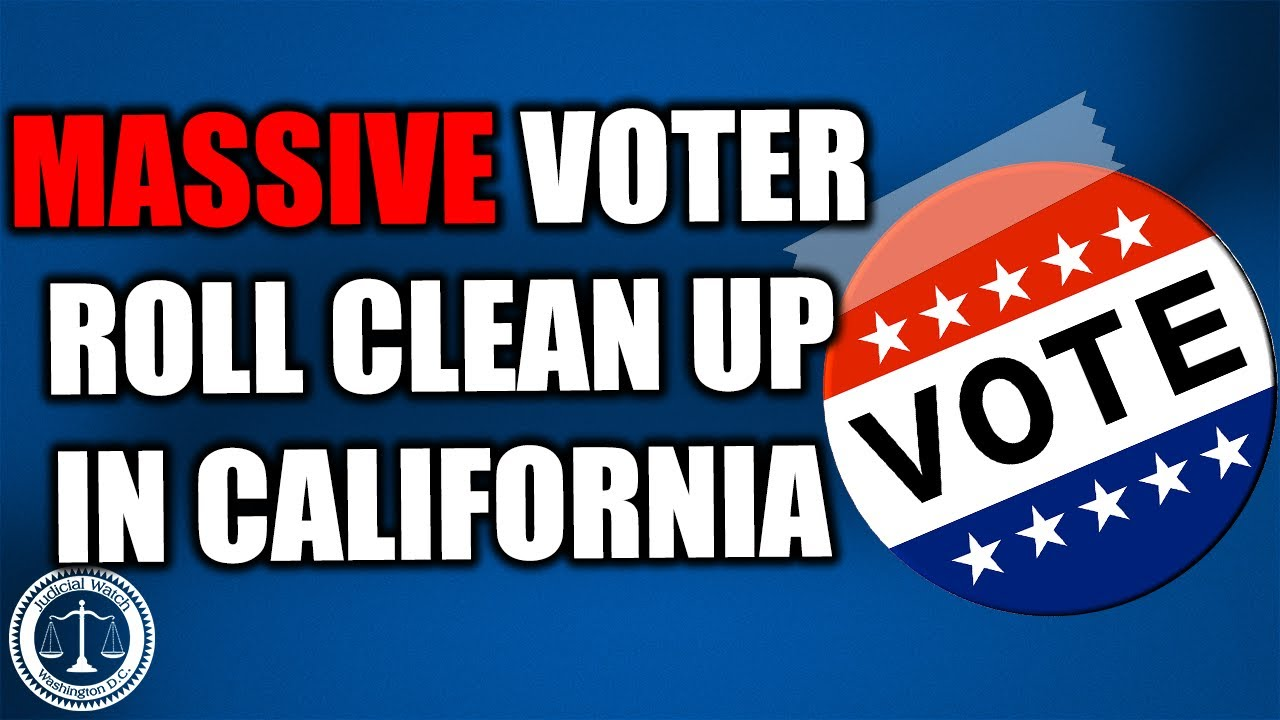 FLASHBACK: Massive Election Roll Clean Up in CA Thanks to JW Lawsuit—The Fight Continues…