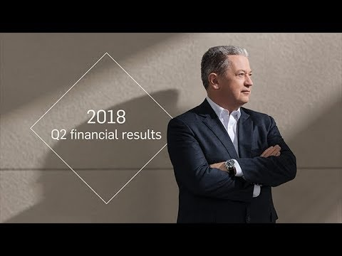 2018 Q2 financial results – Interview with Neil Bruce
