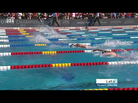 Regan Smith Wins Women's 200-Meter Butterfly Finals | Champions ...