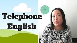 电话英语 telephone english-基础英语-实用英语-英语口语