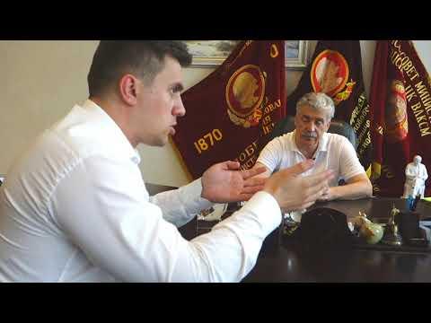 Николай Бондаренко приехал к Павлу Грудинину узнать о ситуации в Совхозе