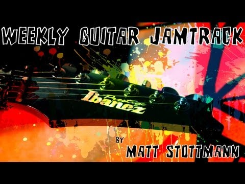 Jazz Fusion Backing Track in A