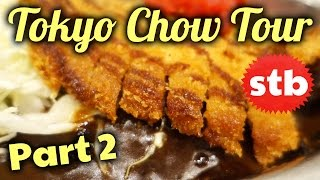 Japanese Food Tour: GO! GO! Japanese Curry // Delicious Tonkatsu Pork Cutlet
