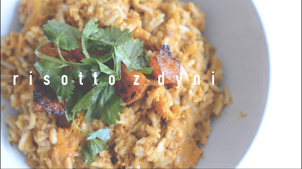 Risotto z Dyni [ wegańskie ] | Pomysł na Szybki Obiad