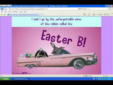 The Easter Bunny Rap