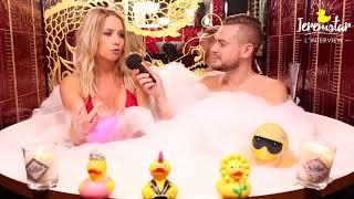 Coralie (Les vacances des Anges 2) dans le bain de Jeremstar - INTERVIEW