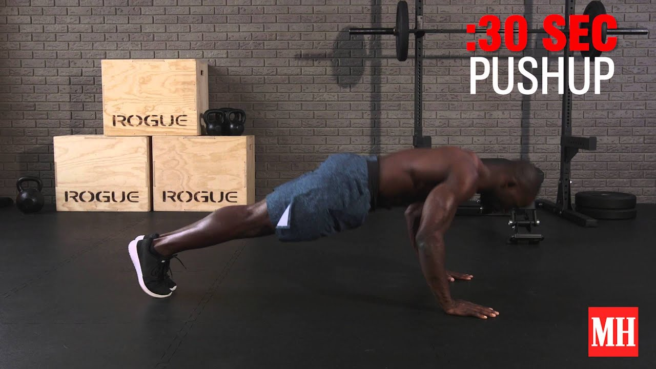 Watch: the 12-minute complete bodyweight burner home workout