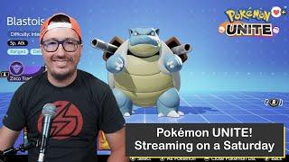 Pokémon UNITE on Nintendo Switch, Streaming on a Saturday