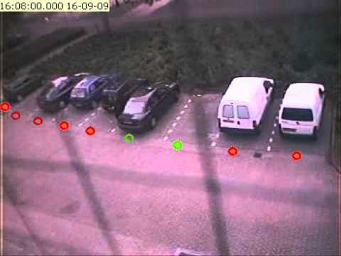 Parking space usage measurement system