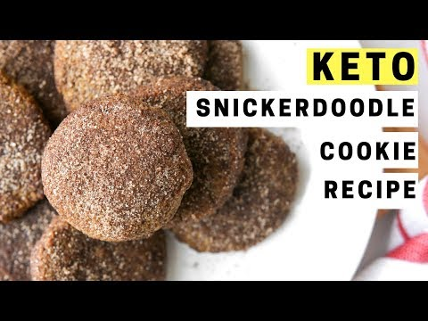LOW CARB SNICKERDOODLE COOKIE RECIPE | BEST COOKIES FOR KETO | EASY KETO RECIPES