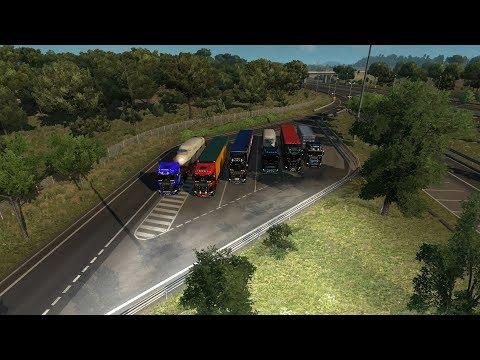 euro truck simulator 2 ets2 multiplayer eu3 german deutsch scania s erweiterungen. Black Bedroom Furniture Sets. Home Design Ideas
