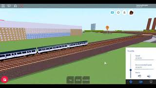 Roblox MTG R&R Sim Driving the A Stock Racing with 1983 Stock Between Mayton and Haldon Road