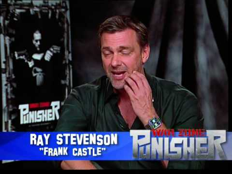 Ray Stevenson interview for Punisher War Zone