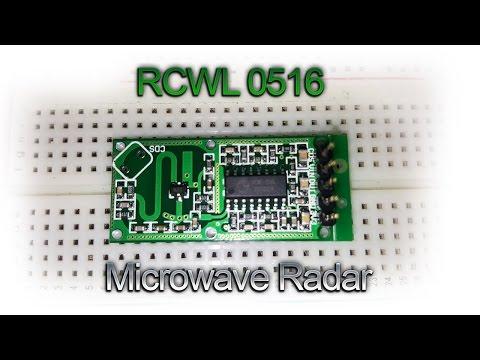 RCWL-0516 Microwave Radar Sensor Arduino Distance Test and