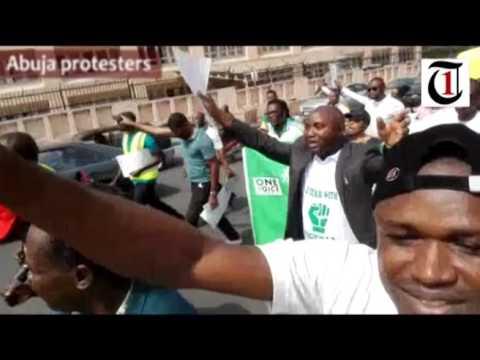 Abuja anti-government protest