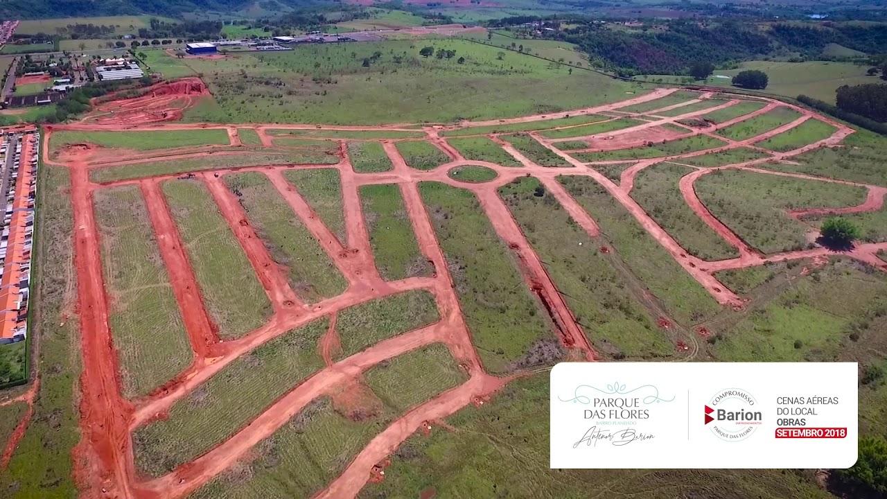 Parque das Flores Bairro | Planejado Antenor Barion - SETEMBRO 2018