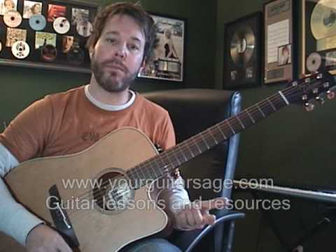 Rocky Racoon by The Beatles - Guitar Lessons Acoustic Beginners songs cover