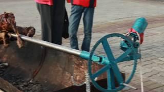 Механический мангал своими руками