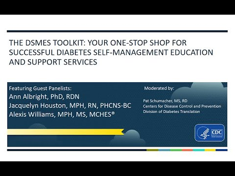 DSMES Toolkit: A One-Stop Shop For Successful Diabetes Self-Management Education And Support