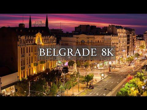BELGRADE 8K TIMELAPSES | ULTRA (FUHD)