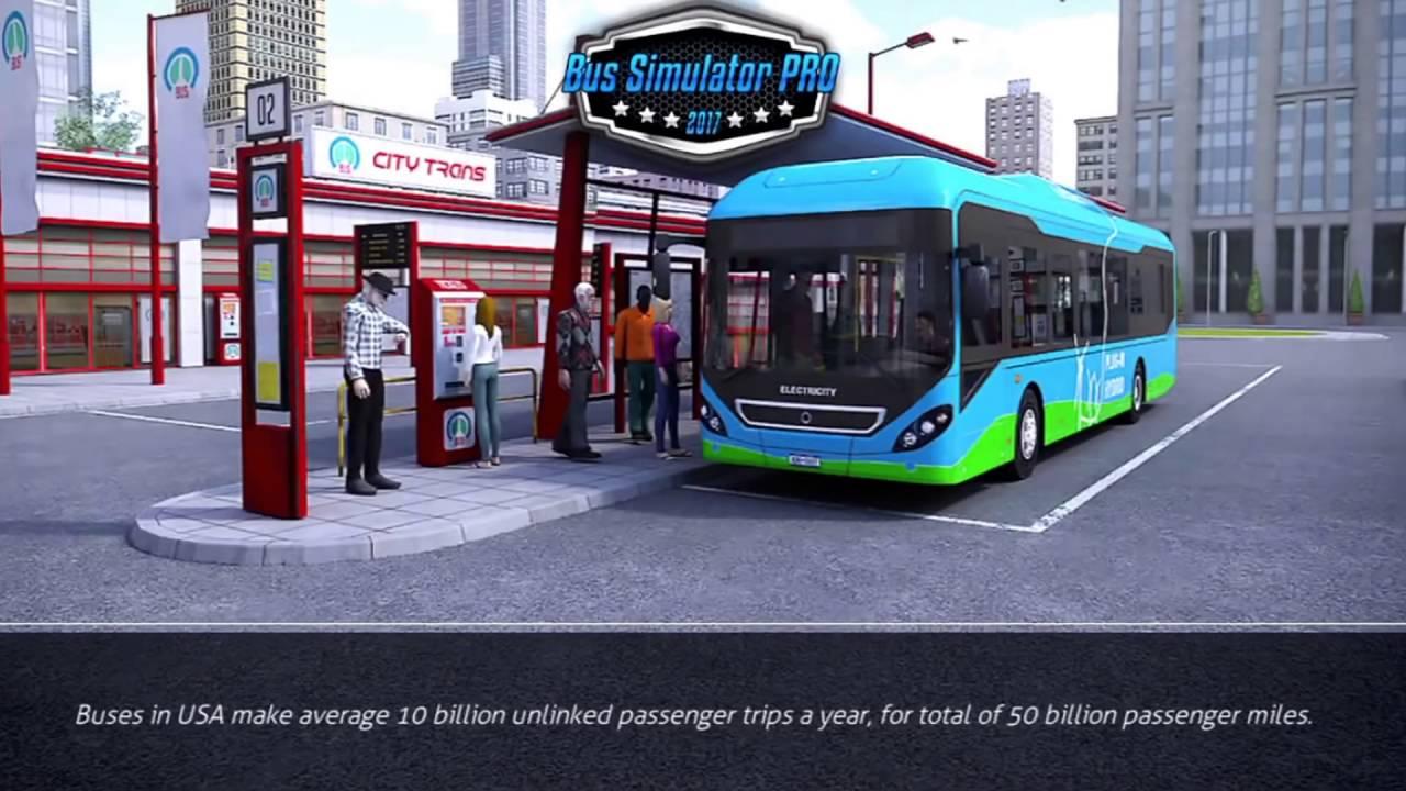 تحميل لعبة bus simulator 2017 مهكرة